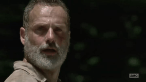 Memes, The Walking Dead, and Walking Dead: aMc Momentos finais da lenda Rick Grimes em The Walking Dead :'(