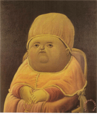 Fernando Botero, the original artist of the y tho meme has another good option: ame Fernando Botero, the original artist of the y tho meme has another good option