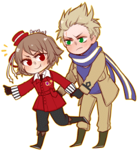 Target, Tumblr, and Blog: amelval:Finished Romania and Netherlands commission!
