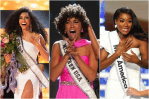 America, Black, and History: America For the first time in history, Miss USA, Miss Teen USA and Miss America are all black women