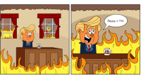 This Is Fine. [OC]: AMERICA IS FINE.  HELD  GREZ This Is Fine. [OC]