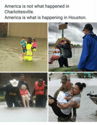 "<p>America is Houston via /r/wholesomememes <a href=""http://ift.tt/2x1GDip"">http://ift.tt/2x1GDip</a></p>: America is not what happened in  Charlottesville.  America is what is happening in Houston. <p>America is Houston via /r/wholesomememes <a href=""http://ift.tt/2x1GDip"">http://ift.tt/2x1GDip</a></p>"