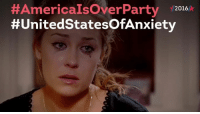 Memes, Canada, and 🤖:  #America IsOverParty  2016  #United StatesOfAnxiety First reactions on Twitter:#AmericaIsOver. Can we go to Canada?