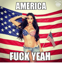 America, Funny, and Love: AMERICA  STILL  91009  ouS  FUCK YEAH Red, White and Bewbs... happyjuly4th independenceday teamamerica southpark wwe wwememes raw sdlive wrestling funny like follow share njpw roh love laugh haha memes jokes likes nxt dankmemes ig nikkibella