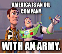 Subscribe to our mailing list and receive our awesome content for FREE - http://goo.gl/caXxWZ: AMERICAIS AN OIL  COMPANY  WITH AN ARMY Subscribe to our mailing list and receive our awesome content for FREE - http://goo.gl/caXxWZ