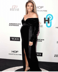 HotShot Ciara and BabyWilson at Harper's Bazaar 150th anniversary party.: AMERICAN  EXPRESS  HOF  HEARTS ON FIRE  RTS ON FIRE  AAR  ICAN  ESS  .JMMI  HE  ANM  EXF HotShot Ciara and BabyWilson at Harper's Bazaar 150th anniversary party.