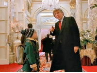 American, Russian, and Hero: American hero Kevin McAllister unwittingly meets with a Russian asset [1992]