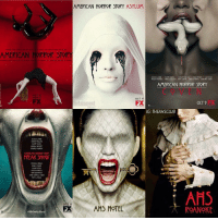Chose only 2!: AMERICAN HORROR STORY ASYLUM  AMERICAN HORROR STORY  CAN ar  ILY RA  KATHY BATty  ESSICA LANGt  SAAPAM PAULSON  VAN PLIERS  AMERICAN HORROR STORY  OCT 17  FX  tertainment  OCT 9  IG: THEAHSCLUB  JESSICA LANGE  SAPAMPALUUN  KATMT BATty  ANGELA BAS)ITT  tRANCty CONROY  AMERICAN NORROR STORY  FREAK SHOUI  AHS  AHS HOTEL  ROANOKE Chose only 2!
