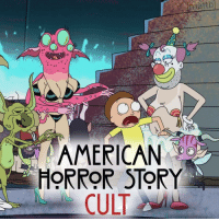 American Horror Story, American, and Horror: AMERICAN  HORROR STORY  CULT