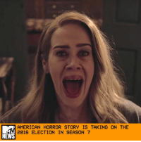 "Ryan Murphy has apparently revealed the theme of the anticipated next season of American Horror Story, and it might just be the anthology show's most terrifying one yet. If nothing else, it's certainly the most timely. _ During an appearance on Watch What Happens Live, the AHS mastermind told host Andy Cohen that he doesn't have an official title for Season 7 but that there is, in fact, a theme: the 2016 election. Yep. Your eyes are not deceiving you. That's what he actually said, and after dutifully double-checking, it appears to be legit. _ ""The season that we begin shooting in June is going to be about the election that we just went through,"" Murphy said. ""So I think that will be interesting for a lot of people."" (That's an understatement, dude. The wounds are still fresh!) _ While living through the 2016 presidential election sure felt like an American horror story, we never thought Murphy would turnaround something so fast. Of course, Murphy's declaration doesn't mean that Season 7 will follow the exact events of the most recent election. It's entirely possible that the season will be ""inspired"" by the election, similar to how this past season, Roanoke, was inspired by the real-life disappearance of an entire colony. So this could very well resemble The Purge. When asked if Season 7 would have ""a Trump,"" Murphy said, slyly, ""Maybe."" _ AHS vets Sarah Paulson and Evan Peters are already confirmed to appear, per The Hollywood Reporter, and because this is a Murphy production, we're bound to see more familiar faces. Although, if the creator does go the historically accurate route, it's really hard to imagine who in Murphy's rolodex could pull off Hillary Clinton and Donald Trump. _ But this idea has undoubtedly been in the works for months. Last month, FX renewed American Horror Story through Season 9, and in a statement to EW, CEO John Landgraf said, ""I'm really excited about Season 7."" _ Maybe we should save everyone the emotional torture and just skip to that crossover between Coven and Murder House. Please, please, please, Murphy? _ by Crystal Bell: AMERICAN HORROR STORY IS TAKING ON THE  2016 ELECTION IN SEASON 7  NEWS Ryan Murphy has apparently revealed the theme of the anticipated next season of American Horror Story, and it might just be the anthology show's most terrifying one yet. If nothing else, it's certainly the most timely. _ During an appearance on Watch What Happens Live, the AHS mastermind told host Andy Cohen that he doesn't have an official title for Season 7 but that there is, in fact, a theme: the 2016 election. Yep. Your eyes are not deceiving you. That's what he actually said, and after dutifully double-checking, it appears to be legit. _ ""The season that we begin shooting in June is going to be about the election that we just went through,"" Murphy said. ""So I think that will be interesting for a lot of people."" (That's an understatement, dude. The wounds are still fresh!) _ While living through the 2016 presidential election sure felt like an American horror story, we never thought Murphy would turnaround something so fast. Of course, Murphy's declaration doesn't mean that Season 7 will follow the exact events of the most recent election. It's entirely possible that the season will be ""inspired"" by the election, similar to how this past season, Roanoke, was inspired by the real-life disappearance of an entire colony. So this could very well resemble The Purge. When asked if Season 7 would have ""a Trump,"" Murphy said, slyly, ""Maybe."" _ AHS vets Sarah Paulson and Evan Peters are already confirmed to appear, per The Hollywood Reporter, and because this is a Murphy production, we're bound to see more familiar faces. Although, if the creator does go the historically accurate route, it's really hard to imagine who in Murphy's rolodex could pull off Hillary Clinton and Donald Trump. _ But this idea has undoubtedly been in the works for months. Last month, FX renewed American Horror Story through Season 9, and in a statement to EW, CEO John Landgraf said, ""I'm really excited about Season 7."" _ Maybe we should save everyone the emotional torture and just skip to that crossover between Coven and Murder House. Please, please, please, Murphy? _ by Crystal Bell"