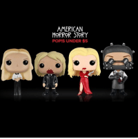 American Horror Story, Memes, and American: AMERICAN  HORROR STORY  POPIS UNDER $5 Have you gotten yours yet? Selected AHS classic Funko Pops! are under $5: LINK IN BIO. AHS FunkoPop Ad