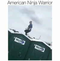 Funny, American, and Ninja: American Ninja Warrior She flewww