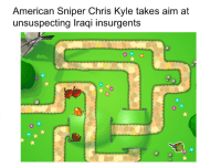 """American Sniper, American, and Http: American Sniper Chris Kyle takes aim at  unsuspecting Iraqi insurgents <p>Trying to get into the budding Btd5 industry. Is it worth the investment? via /r/MemeEconomy <a href=""""http://ift.tt/2ofB47C"""">http://ift.tt/2ofB47C</a></p>"""