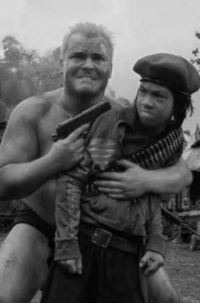 American soldier interrogating a suspected Viet Cong child soldier (1968): American soldier interrogating a suspected Viet Cong child soldier (1968)