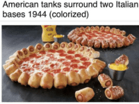 Rare footage from the Allied invasion of Italy (1944 colorized): American tanks surround two ltalian  bases 1944 (colorized) Rare footage from the Allied invasion of Italy (1944 colorized)