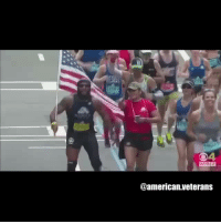 America, Memes, and True: @american veterans Sgt. Jose Sanchez who lost his leg in Afghanistan ran the entire Boston Marathon, waving the American Flag! True American Soldier! Undefeatable and unstoppable! Thanks for your service, thanks for the inspiration! americanveterans veterans usveterans usmilitary usarmy supportveterans honorvets usvets america usa patriot uspatriot americanpatriot supportourtroops godblessourtroops ustroops americantroops semperfi military remembereveryonedeployed deplorables deployed starsandstripes americanflag usflag respecttheflag marines navy airforce