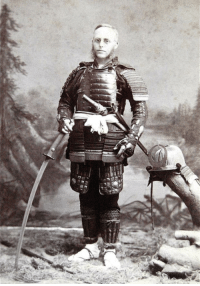 Anime, American, and Character: American Weeaboo Dressed Up in His Favourite Anime Character circa 1890