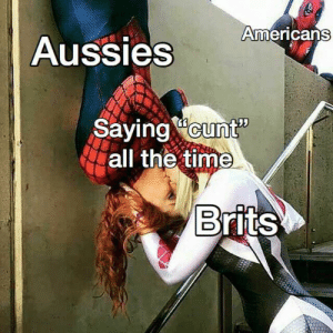 """C U Next Tuesday! Invest for profits that will last through the week! via /r/MemeEconomy https://ift.tt/2MTpkYx: Americans  Aussies  Sayingcunt""""  all the time  Brits C U Next Tuesday! Invest for profits that will last through the week! via /r/MemeEconomy https://ift.tt/2MTpkYx"""