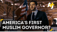 America, Memes, and Muslim: AMERICA'S FIRST  MUSLIM GOVERNOR? Meet Abdul El-Sayed, the man who could be America's first Muslim governor.