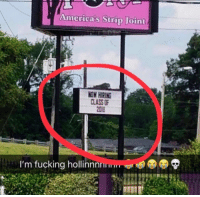 Fucking, Life, and Class: America's Strip Joint  NOW HIRING  CLASS O  2018  I'm fucking hollinnnnm <p>When real life hits you! Congrats to the class of 2018. 👍😂😂</p>