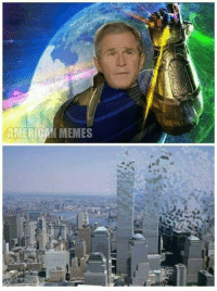 Thanos did 9/11: AMERICON MEMES Thanos did 9/11