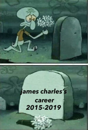 : ames charles's  career  2015-2019