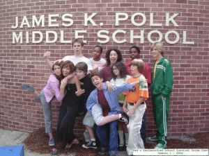 vicky-leee:  viridiannightmares:  I bet anyone who doesn't know this show would think this is a legit school picture  for a second I did, but then I saw coconut head and I screamed : AMES K POLK  MIDDLE SCHOOL vicky-leee:  viridiannightmares:  I bet anyone who doesn't know this show would think this is a legit school picture  for a second I did, but then I saw coconut head and I screamed