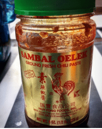My secret ingredient for guacamole and salsa and anything you want a little spicy. It's the BOMB !: AMIA GROUND FRESH CHILI PASTE  COLOR  A300 (626) anyon Rd., Irw  dale My secret ingredient for guacamole and salsa and anything you want a little spicy. It's the BOMB !
