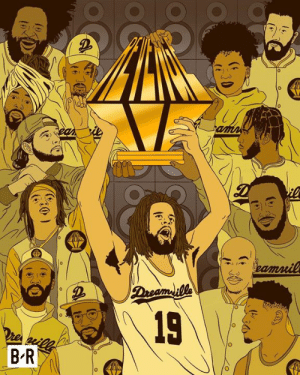 Dreamville got their revenge on the rap game 🏆: amn  ean  eamnil  Dreamille  19  Dre esll  B R  (  16% Dreamville got their revenge on the rap game 🏆