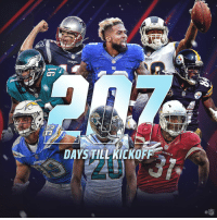 Countdown, Memes, and Nfl: amn  PA  DAYSTILL KICKOFF  ALS  NFL The countdown begins ... 2️⃣0️⃣7️⃣ DAYS UNTIL 🏈 SEASON IS BACK! #Kickoff2018 https://t.co/LKgf95npcm