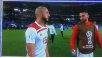 Memes, World, and 🤖: Amrabat saying what the whole world thinks. #WorldCup https://t.co/C3OhtKqqNQ