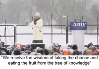 """Bible, Power, and Tree: Amy  1990  SUBSCRIBE  """"We receive the wisdom of taking the chance and  eating the fruit from the tree of knowledge"""""""
