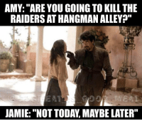 """AMY: """"ARE YOU GOING TO KILL THE  RAIDERS ATHANGMAN ALLEY?""""  JAMIE: """"NOT TODAY MAYBE LATER"""" Looks like Jamie and Amy are having another tiff Back up IG: @dogmeat_is_good_meat2 fallout ps4 bethesda zenimax xbox godhoward comedy dankmemes lol instadaily fallout4 vaultboy smile game playstation sony funny falloutshelter meme"""