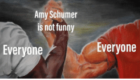 Amy Schumer, Bitch, and Funny: Amy Schumer  is not funny  Everyone  Everyone Everyone, you son of a bitch!