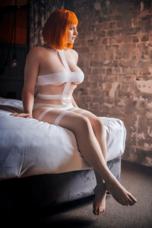 """Amyable Cosplay as """"Leeloo"""" from ~The Fifth Element~: Amyable Cosplay as """"Leeloo"""" from ~The Fifth Element~"""