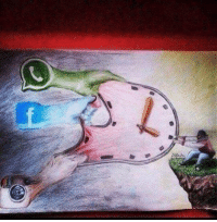 An amazing picture depicting our modern lives: An amazing picture depicting our modern lives