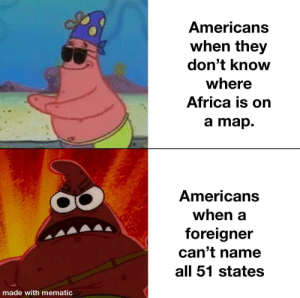 An America meme that has nothing to do with riots or racism. by Man-like-ben MORE MEMES: An America meme that has nothing to do with riots or racism. by Man-like-ben MORE MEMES
