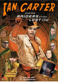 Dank, Meme, and Memes: AN and the  RAIDERS of the  LOST Chin  IG succ the zucc  AMSEL  FB #nochin #chinsoutforleafy #meme #dank  Still hasnt been found