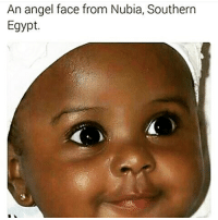 Look at the little chicken nuggettt ♥♥♥ she is beautiful babyfever: An angel face from Nubia, Southern  Egypt. Look at the little chicken nuggettt ♥♥♥ she is beautiful babyfever