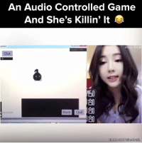 Asian, Memes, and Asians: An Audio Controlled Game  And She's Killin' It  Out  Back Quit  Facebook I Asian Crush Damn she's got it down! #onedip