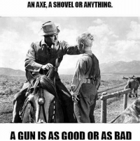 America, Bad, and Guns: AN AXE, A SHOVEL OR ANYTHING.  AGUNISAS OR AS BAD 🔫🔫 . . . Conservative America SupportOurTroops American Gun Constitution Politics TrumpTrain President Jobs Capitalism Military MikePence TeaParty Republican Mattis TrumpPence Guns AmericaFirst USA Political DonaldTrump Freedom Liberty Veteran Patriot Prolife Government PresidentTrump Partners @conservative_panda @reasonoveremotion @conservative.american @too_savage_for_democrats -------------------- Contact me ●Email- RaisedRightAlwaysRight@gmail.com ●KIK- @Raised_Right_ ●Send me letters! Raised Right, 5753 Hwy 85 North, 2486 Crestview, Fl 32536