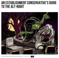 holy shit: AN ESTABLISHMENT CONSERVATIVE'S GUIDE  TO THE ALT-RIGHT  Image: Jeremie Lederman  by ALLUMBOKHARI & MILOYIANNOPOULOS 29 Mar 2016  1.201 holy shit