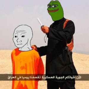 An example of a meme (Smug Frog) that provides an intuition of what ...: An example of a meme (Smug Frog) that provides an intuition of what ...