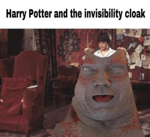 An extraordinary humble Invincibility Cloak. by OGToke MORE MEMES: An extraordinary humble Invincibility Cloak. by OGToke MORE MEMES