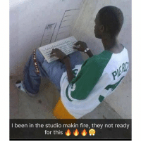 Me and @prayforshell cooking up some heat y'all nephews ain't ready for: An  I been in the studio makin fire, they not ready  for this Me and @prayforshell cooking up some heat y'all nephews ain't ready for