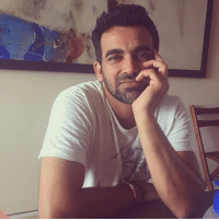 Memes, Pacer, and Indian: An Insta click of the former Indian pacer Zaheer Khan.