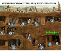 Chelsea, Memes, and Troll: AN UNDERGROUND CITY HAS BEEN FOUND IN LONDON That's where all the Chelsea fans are hiding 😂👏 CFC Hiding London Underground Troll