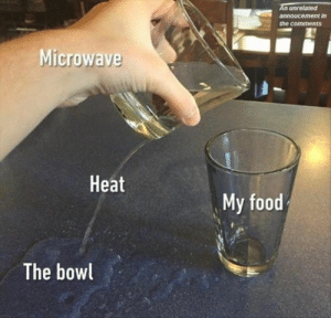 Food, Memes, and Heat: An unrelated  annoucement in  the comments  Microwave  Heat  My food  The bowl 55 NEWEST MEMES FOR TODAY #859