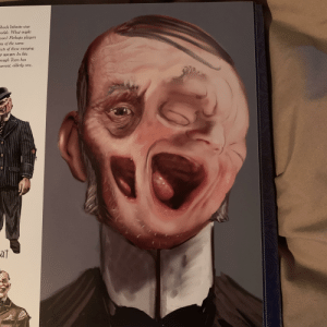 An unused concept for Bioshock Infinite in which people could become disfigured due to merging with their self from another dimension: An unused concept for Bioshock Infinite in which people could become disfigured due to merging with their self from another dimension