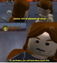 """Tumblr, Blog, and Heart: ANAKIN, YOU'RE BREAKING MY HEART!  It's ok Padme, you still have three hearts left. <p><a href=""""http://scifiseries.tumblr.com/post/166196871423/ooba"""" class=""""tumblr_blog"""">scifiseries</a>:</p>  <blockquote><p>Ooba</p></blockquote>"""